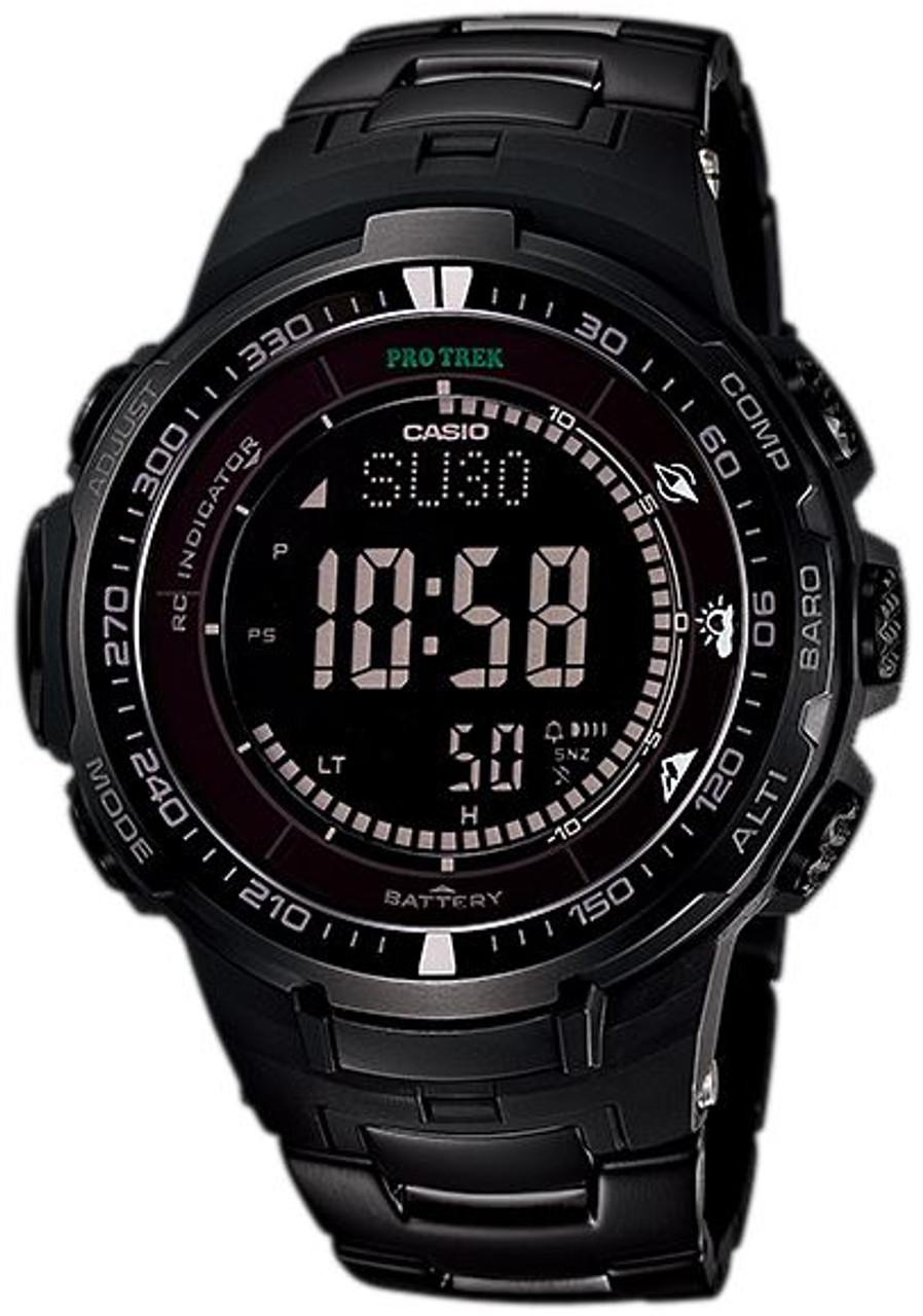 Casio Protrek PRW-3000YT-1JF Black Titan Limited