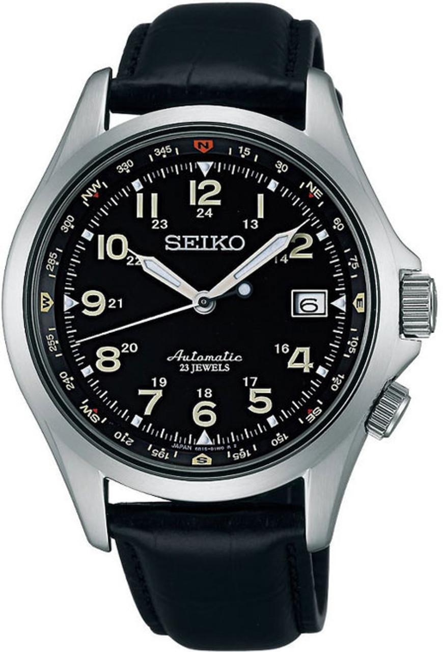 Seiko Mechanical Alpinist SARG007