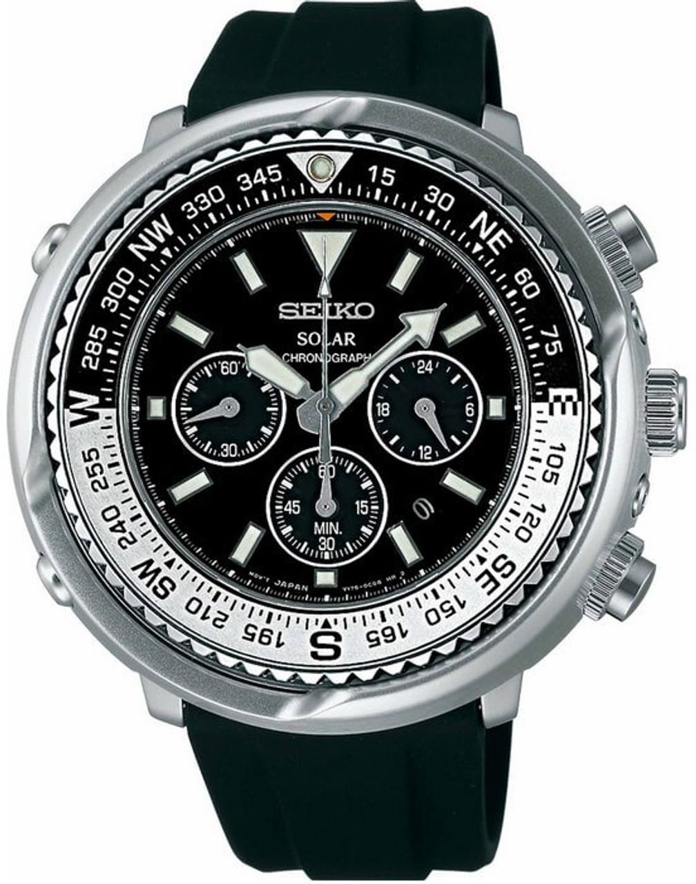 Seiko Prospex Solar Chronograph
