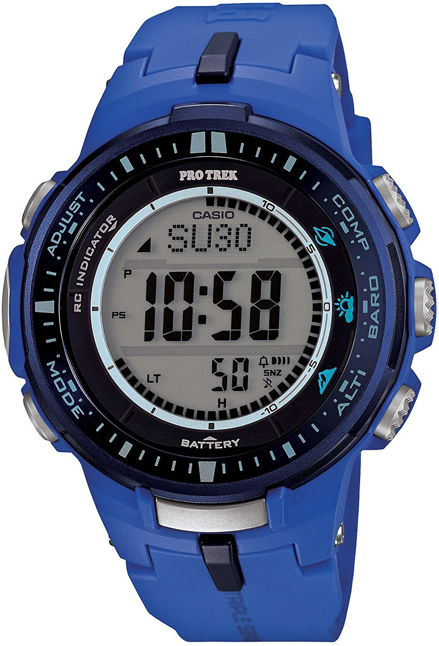 Casio Protrek PRW-3000-2BJF Triple Sensor Version 3