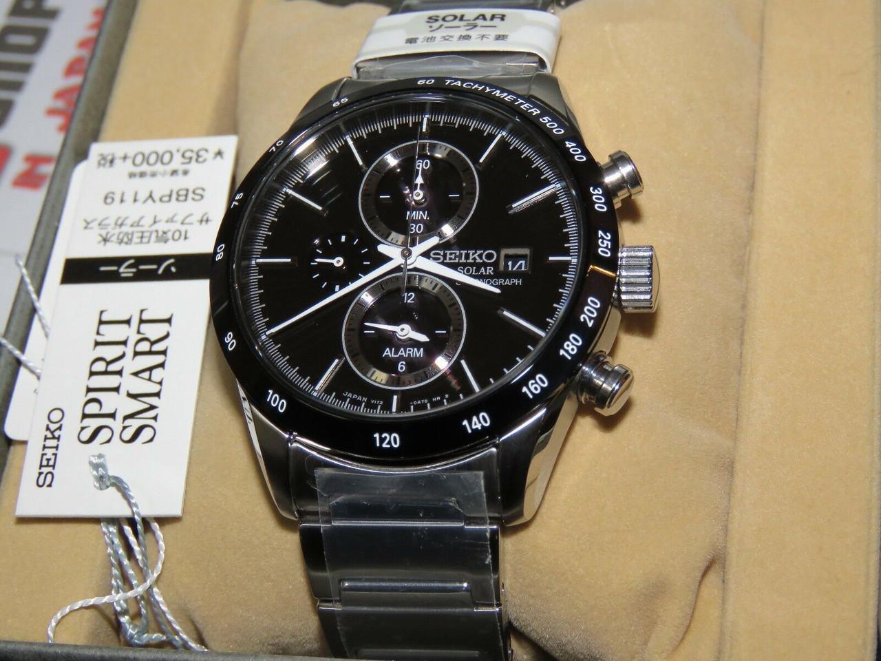 Seiko Spirit Smart SBPY119 Chronograph