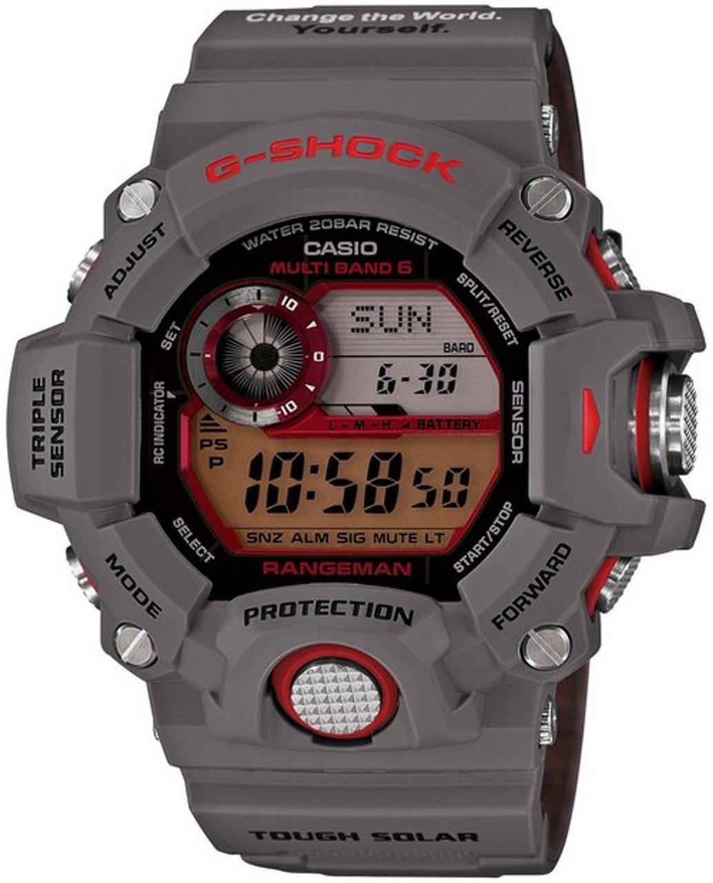Casio G-Shock Rangeman GW-9400KJ-8JR Earthwatch