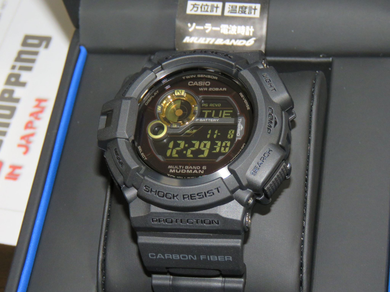 G-Shock Mudman GW-9300GB-1JF BLACK GOLD (Carbon)