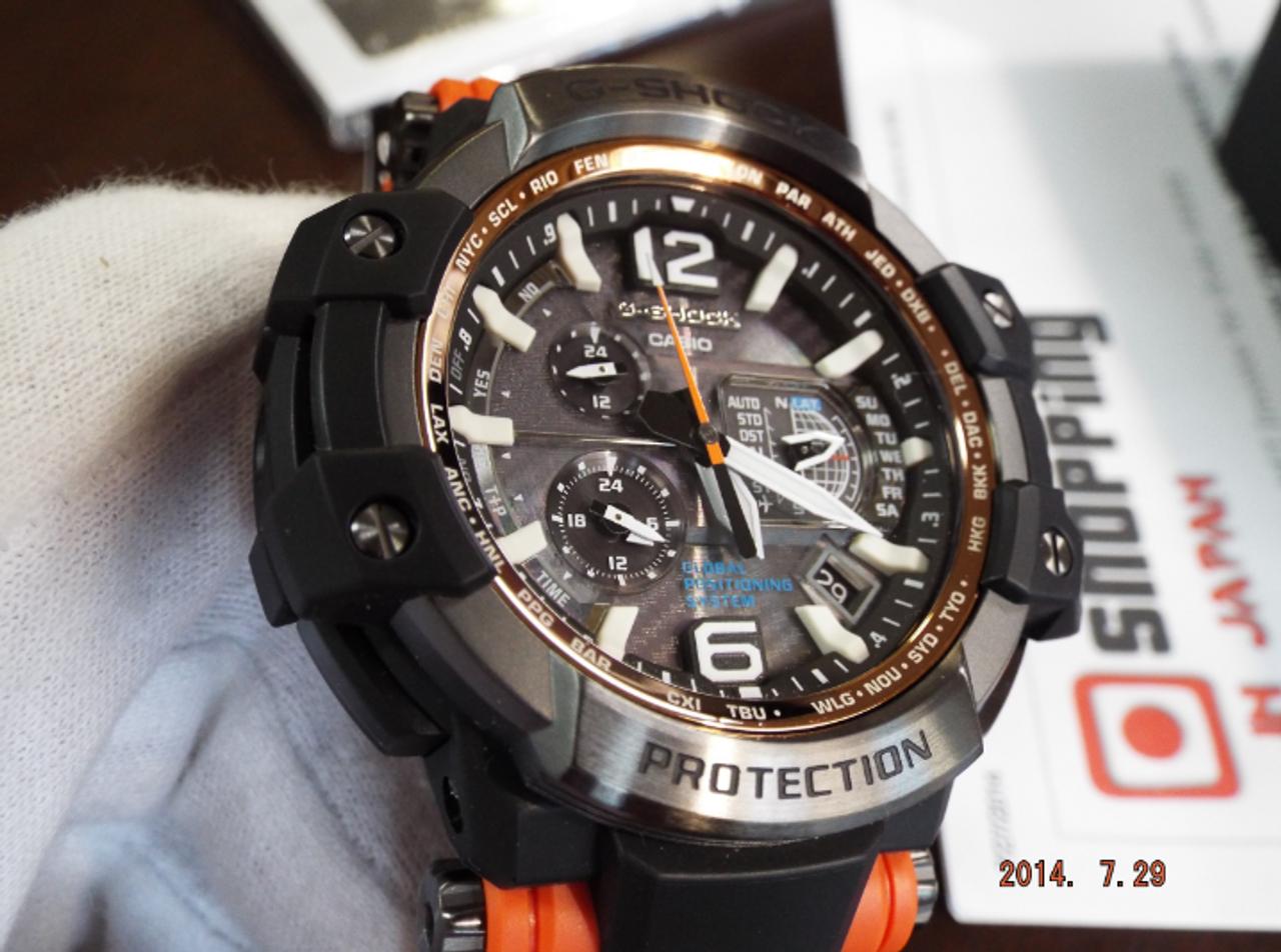 G-Shock GPS GPW-1000-4AER