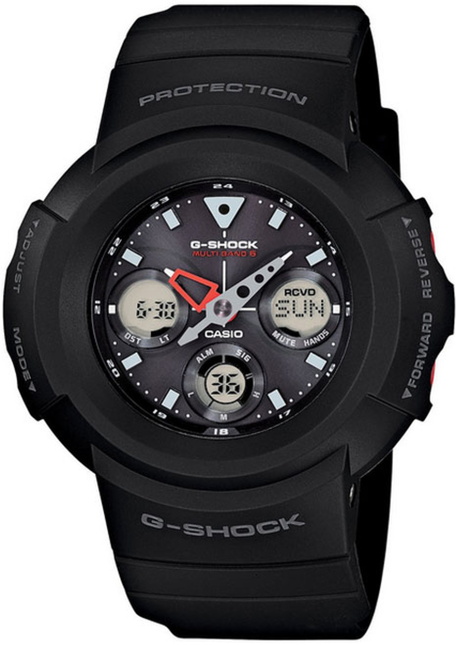 Black Casio G-Shock Multiband 6 Watch