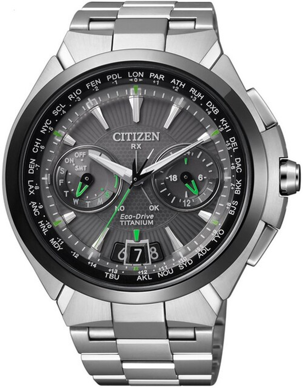 Citizen Attesa CC1086-50E Satellite Wave GPS