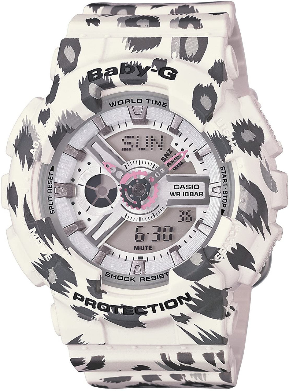 Casio Baby-G BA-110LP-7AJF White Leopard Series