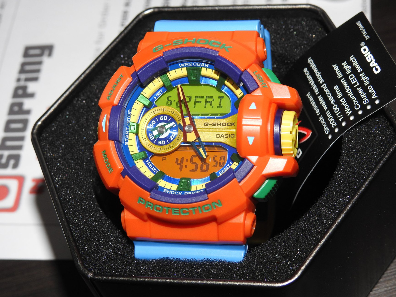 GA-400-4AJF Hyper Colors