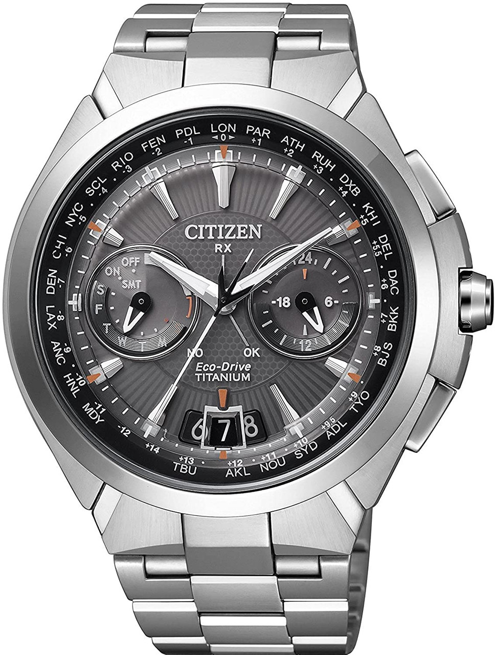 Citizen Satellite Wave GPS CC1080-56E Attesa