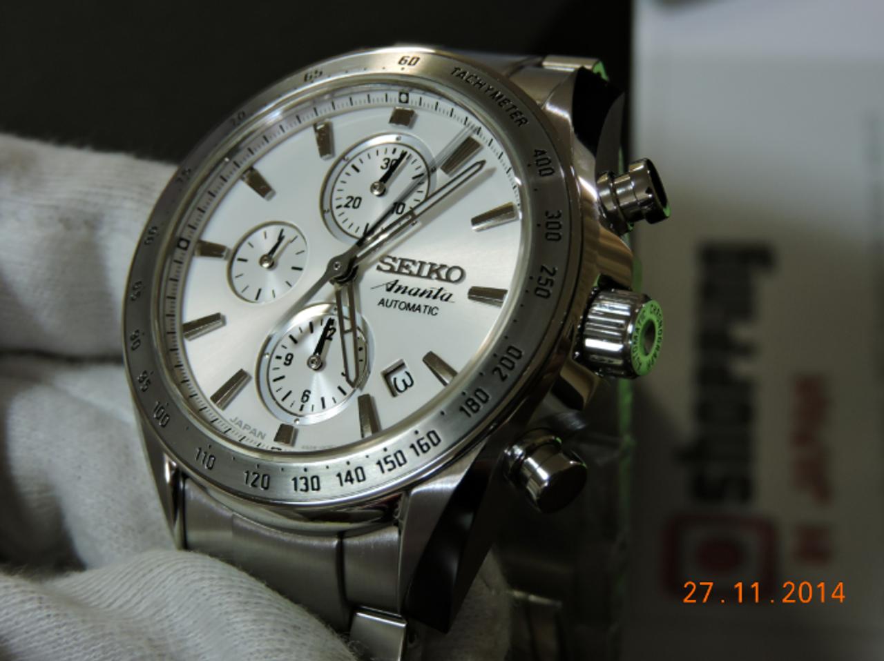 Seiko Ananta SAEH013 Chronograph
