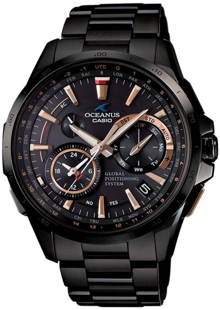 Casio GPS Oceanus OCW-G1000B-1A2JF