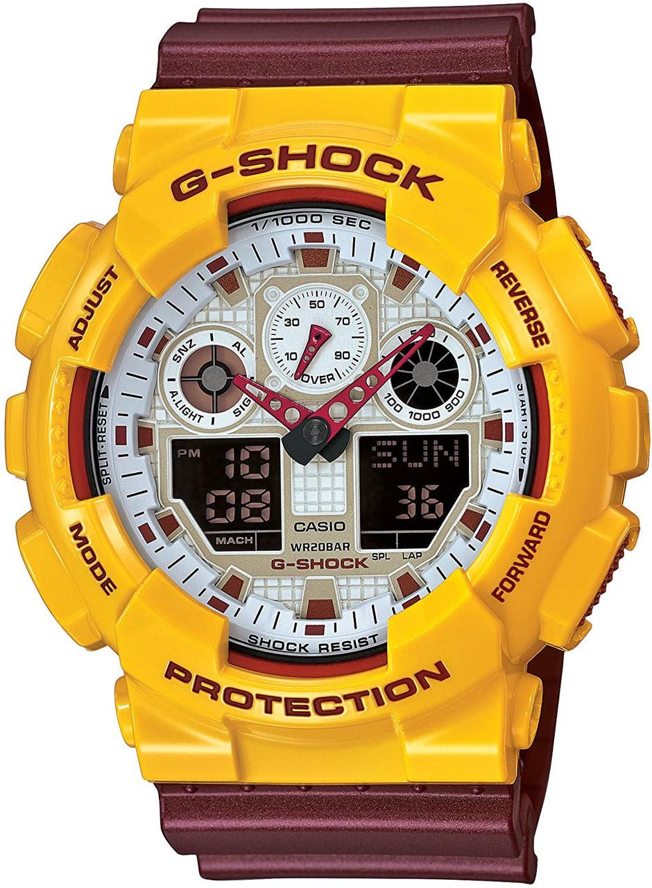Casio G-Shock GA-100CS-9AJF Crazy Color