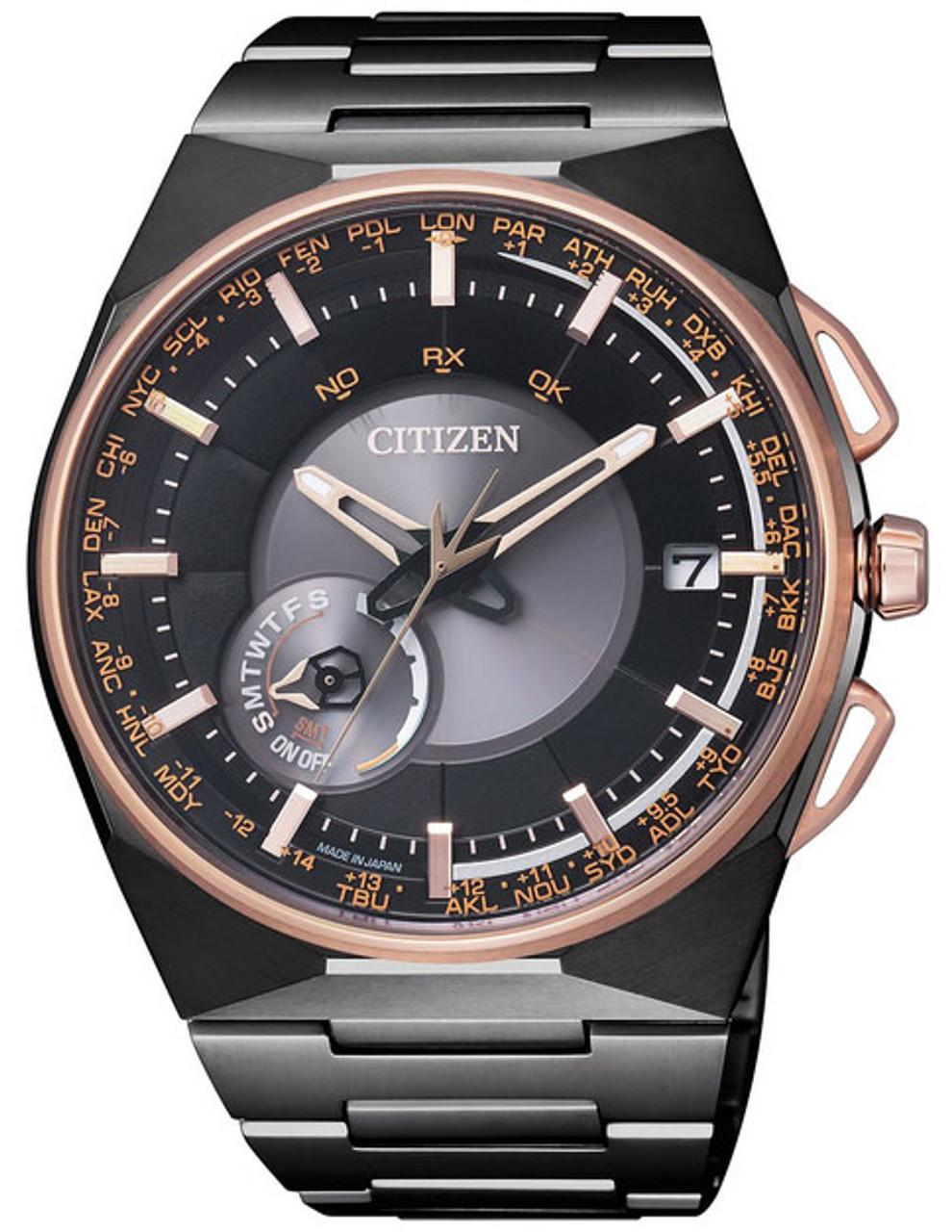 Citizen F100 Satellite Wave CC2004-59E Limited