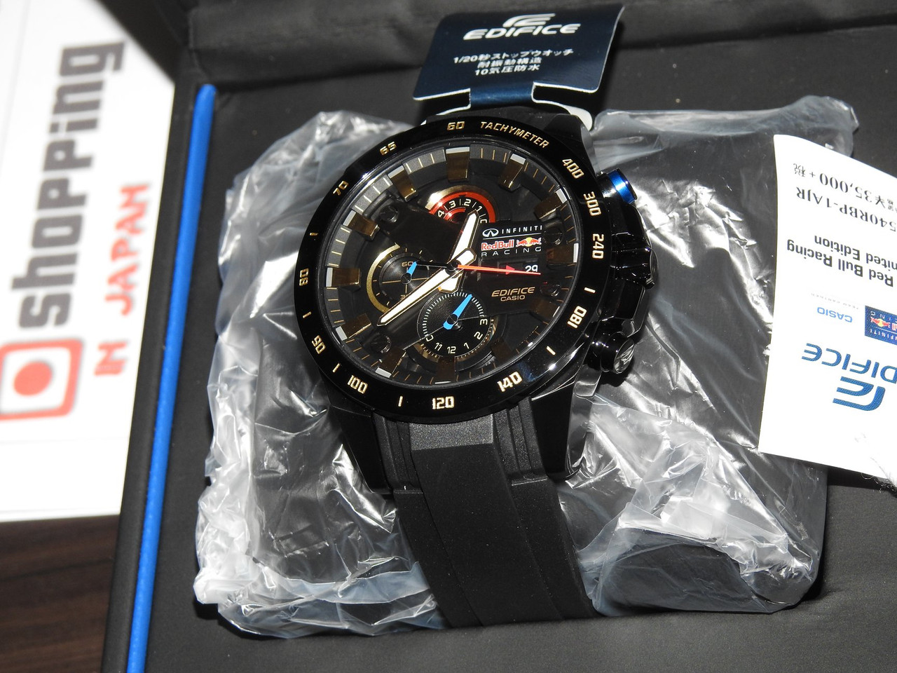Casio Edifice Red Bull Racing Infiniti EFR-540RBP-1AJR