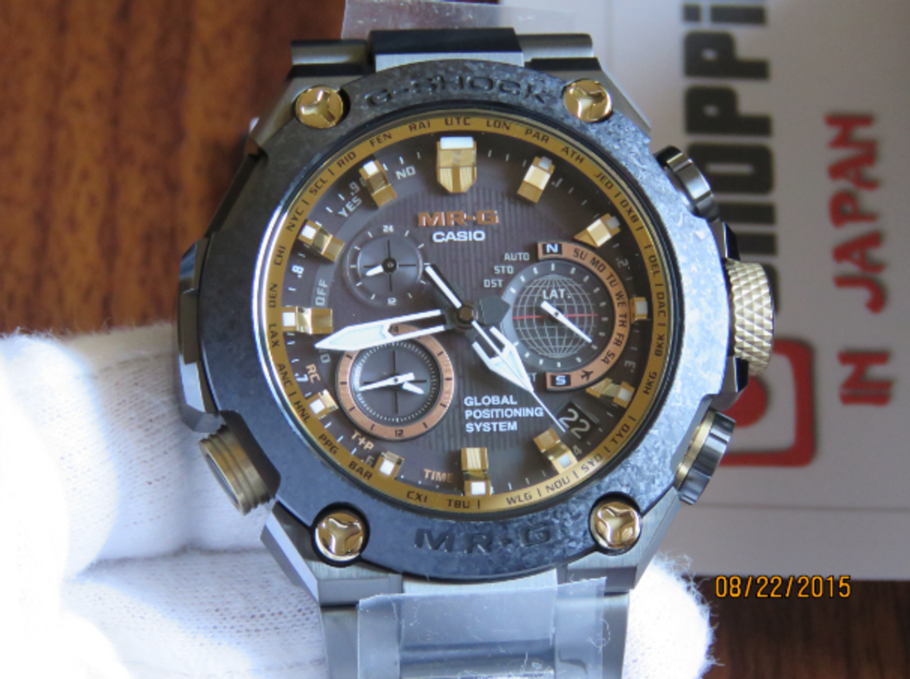 Casio MRG-G1000RT