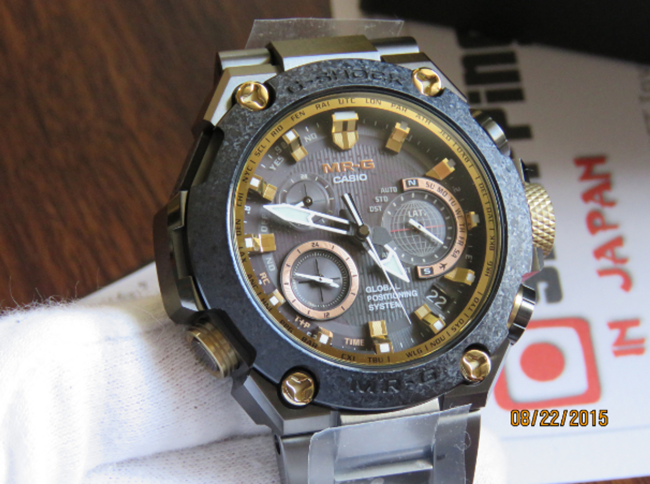 G-Shock GPS MRG-G1000RT