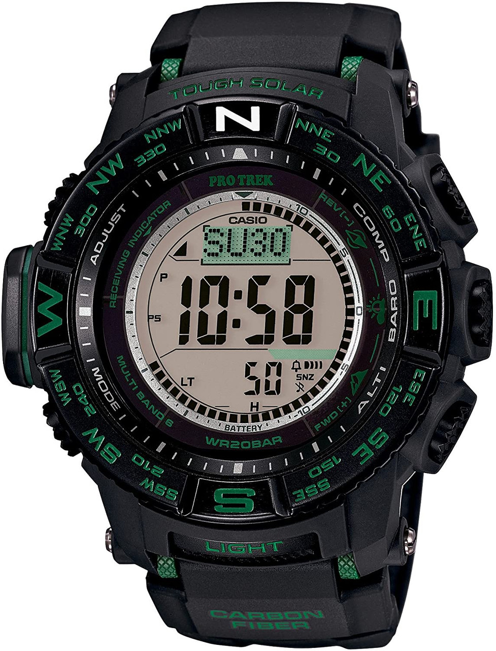 Casio Protrek PRW-S3500-1 Triple Sensor Version 3