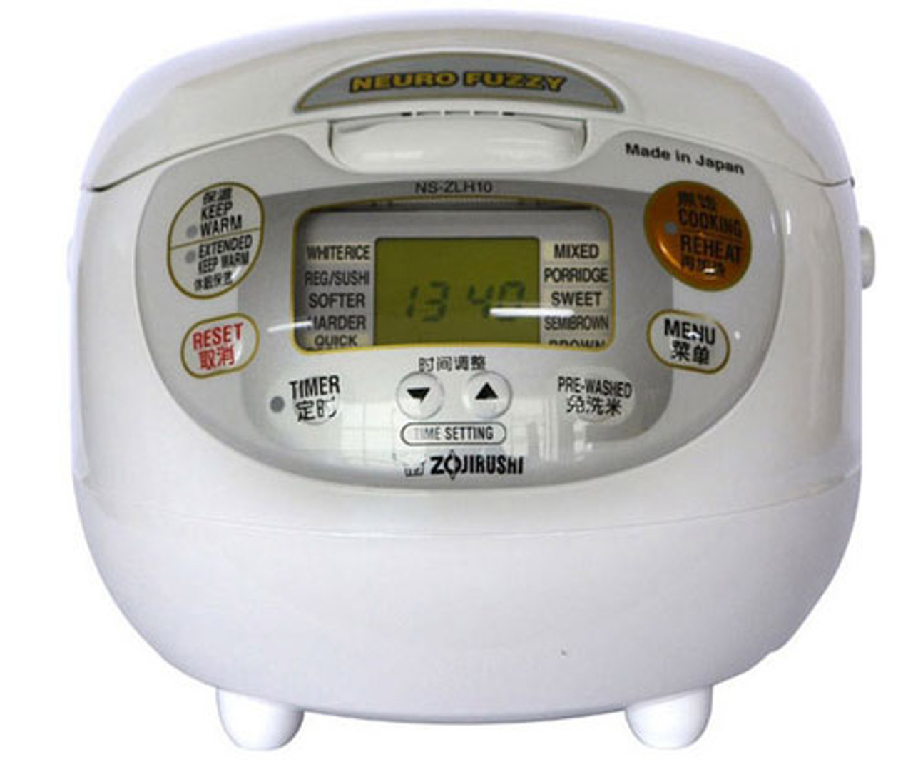 Zojirushi Rice Cooker NS-ZLH10 WZ 220-230V