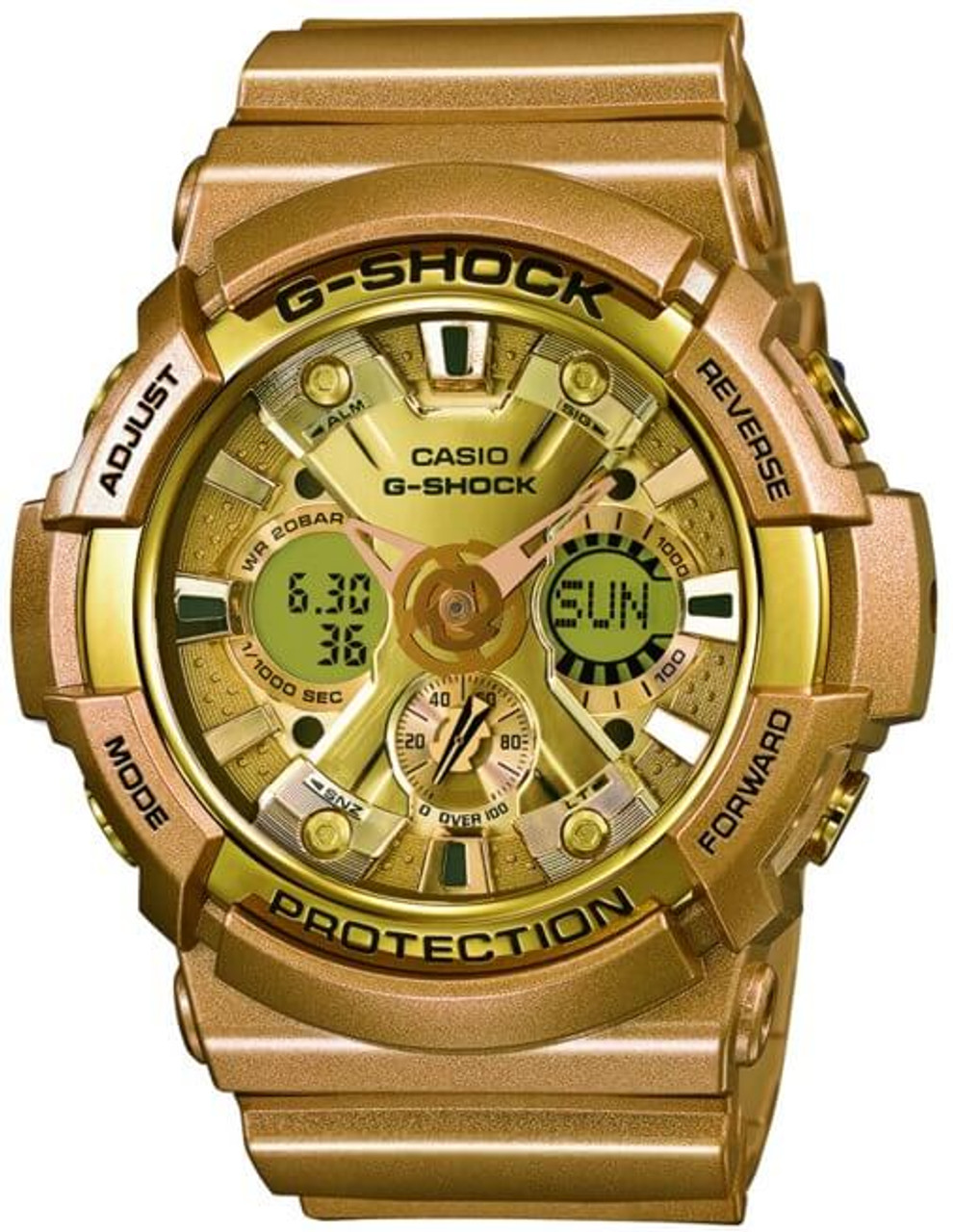 G-Shock GA-200GD-9AJF Analog Digital Gold