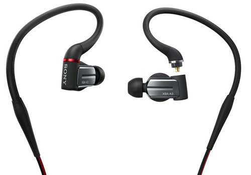 Sony XBA-A3 Balanced Armature Headphones