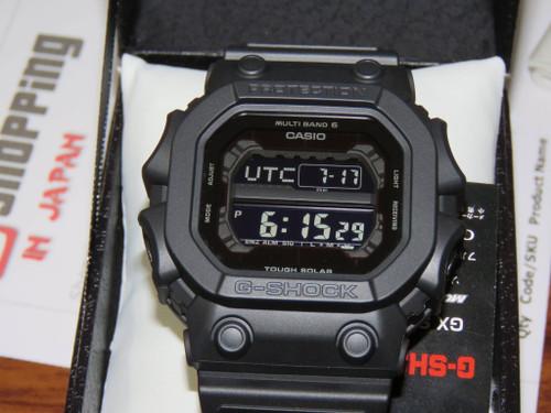 G-Shock GXW-56BB-1JF Basic Black Multiband 6