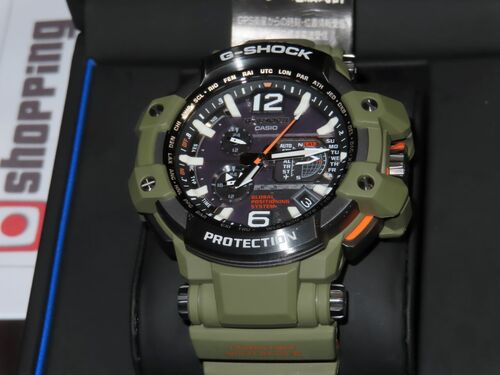 G-Shock Aviation GPW-1000KH-3AJF Master In Olive Drab