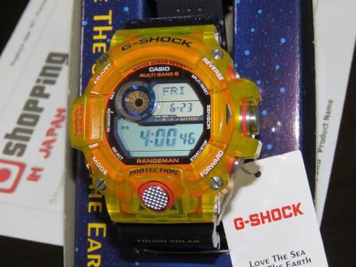 G-Shock Rangeman GW-9403KJ-9JR Jelly Yellow Bezel