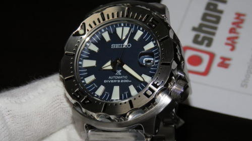Seiko Monster Dark Blue 3rd Gen