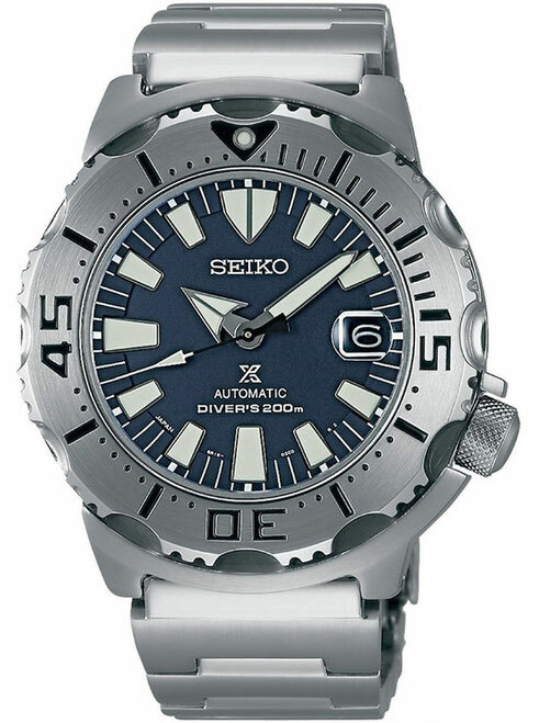 Seiko Monster SZSC003 Dark Blue 3rd Generation