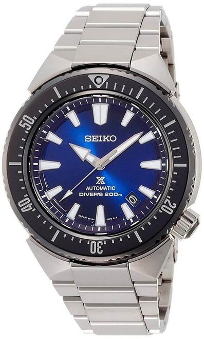 Seiko Prospex Transocean SBDC047 Blue Dial