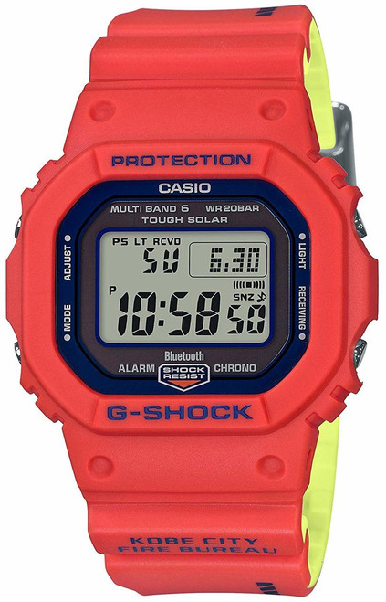 G-Shock GW-B5600FB-4JR Kobe City Fire Bureau