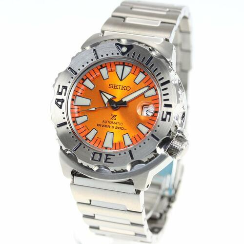 Seiko Prospex Monster Orange Sunburst SBDC075