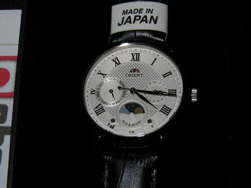 Orient Sun Moon Ladies Made In Japan RN-KA0003S