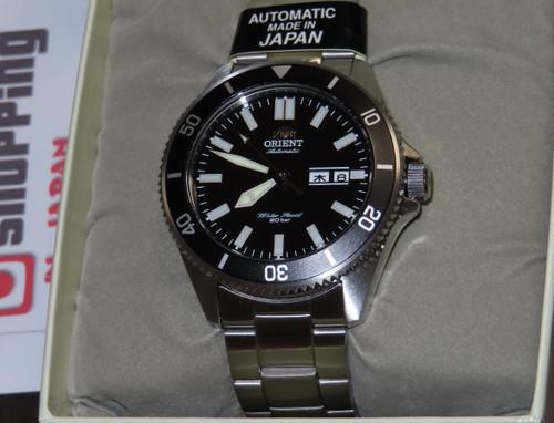 Orient MAKO Black SS Sport Diver RN-AA0006B