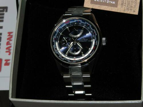 Orient Star World Time WZ0071JC