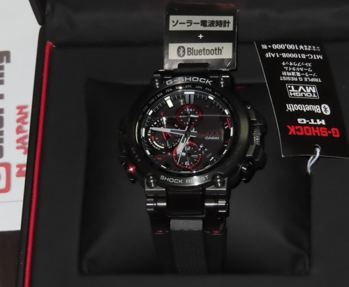 G-Shock MTG Connected Black MTG-B1000B-1AJF