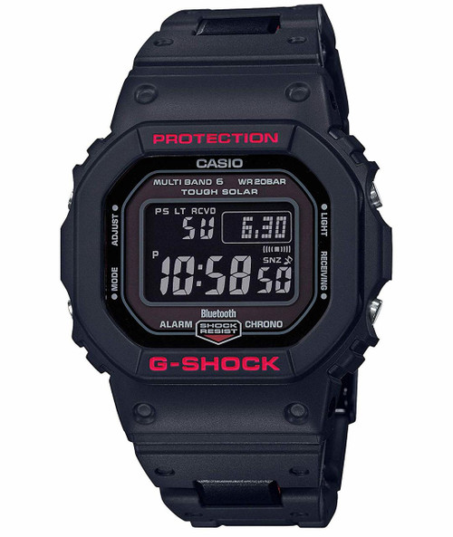 G-Shock Black and Red  GW-B5600HR Heritage Series
