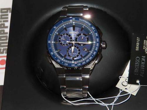 Seiko Astron 8x Series Chronograph SSE127 / SBXB127