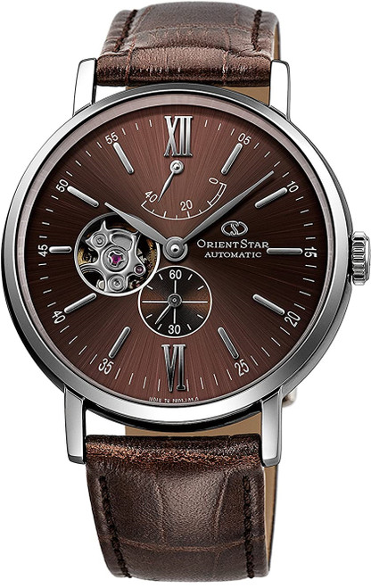 Orient Star Classic Brown Sunburst WZ0301DK