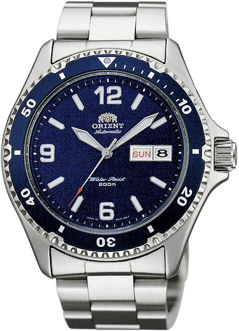 Orient MAKO II Blue Automatic SAA02002D3 / AA02002D