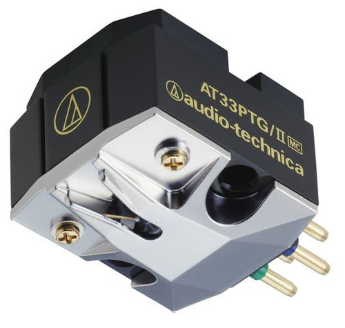 Audio-Technica Dual Moving Coil Cartridge AT33PTG/II