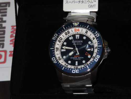 Citizen Promaster GMT Diver BJ7111-86L