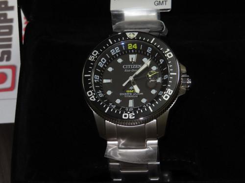 Citizen Promaster Marine GMT 200m BJ7110-89E