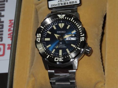Seiko Prospex Monster Blue Dial Kanji SBDY033
