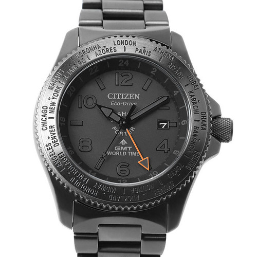 Citizen x Porter GMT World Time Black Limited
