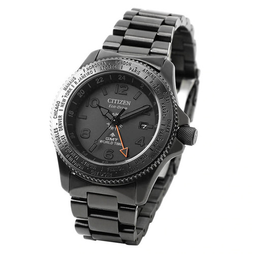 Citizen x Porter GMT World Time Black Limited
