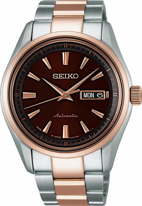 Seiko Presage SARY056 Two-Tone Rose Gold