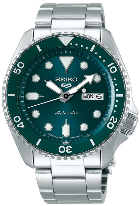 Seiko 5 Sports Green Japan Kanji SBSA011