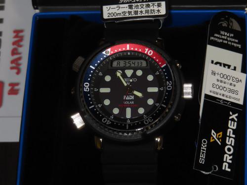 Seiko Scuba Arnie Reissue PADI Diver SBEQ003