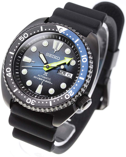 Seiko Darth Turtle Limited SBDY041 Fume Dlue Dial